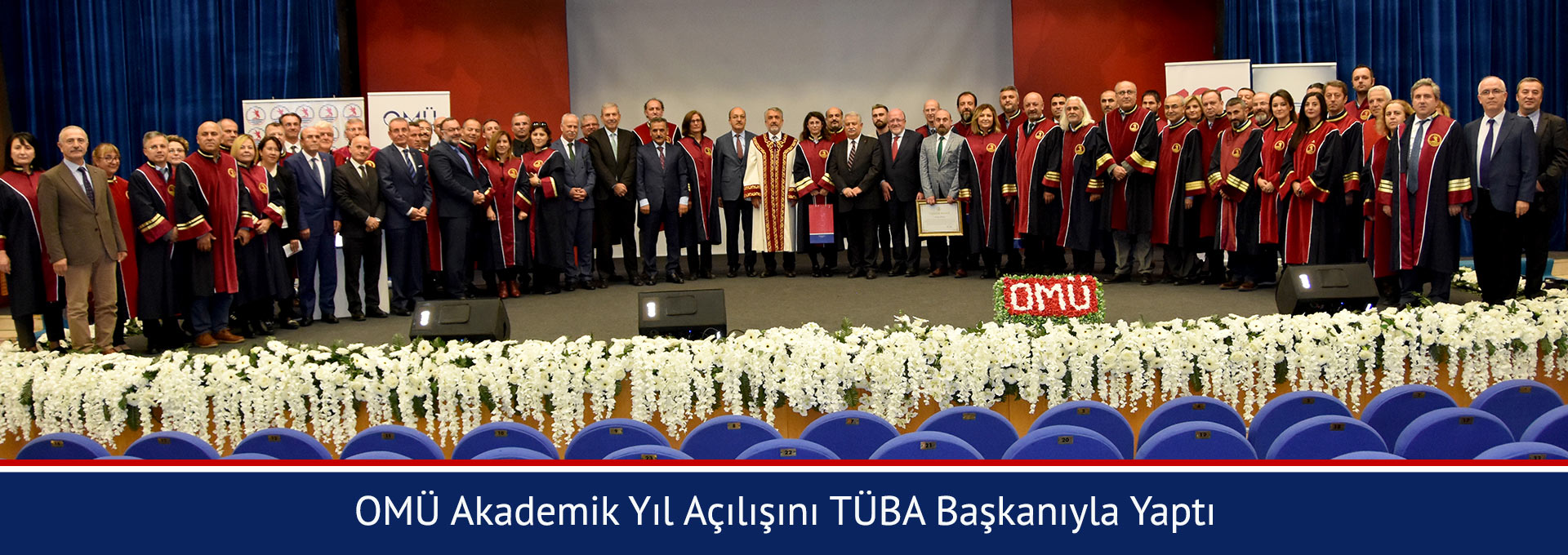 OMU Celebrated the New Academic Year Together With the President of TUBA