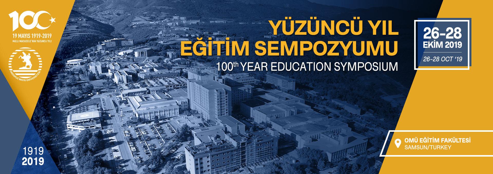 100. Yıl Eğitim Sempozyumu 1919-2019