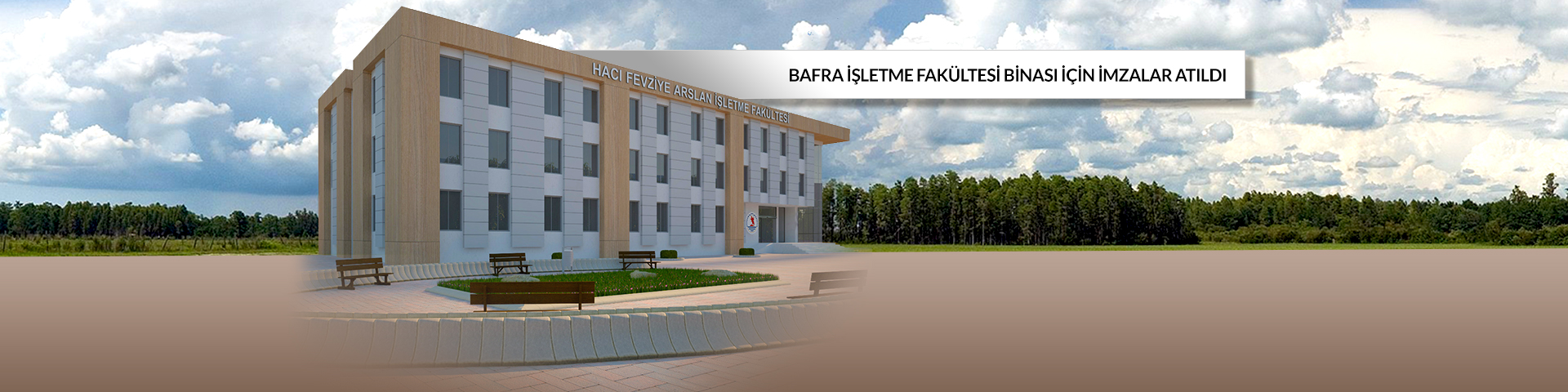 Arslan Ailesi'nden Bafra'ya Fakülte Binası