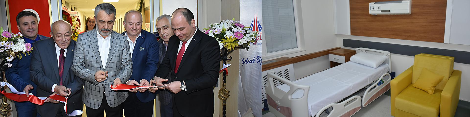KBB ve Göz Servisleri Yeni Hâliyle Hizmete Açıldı