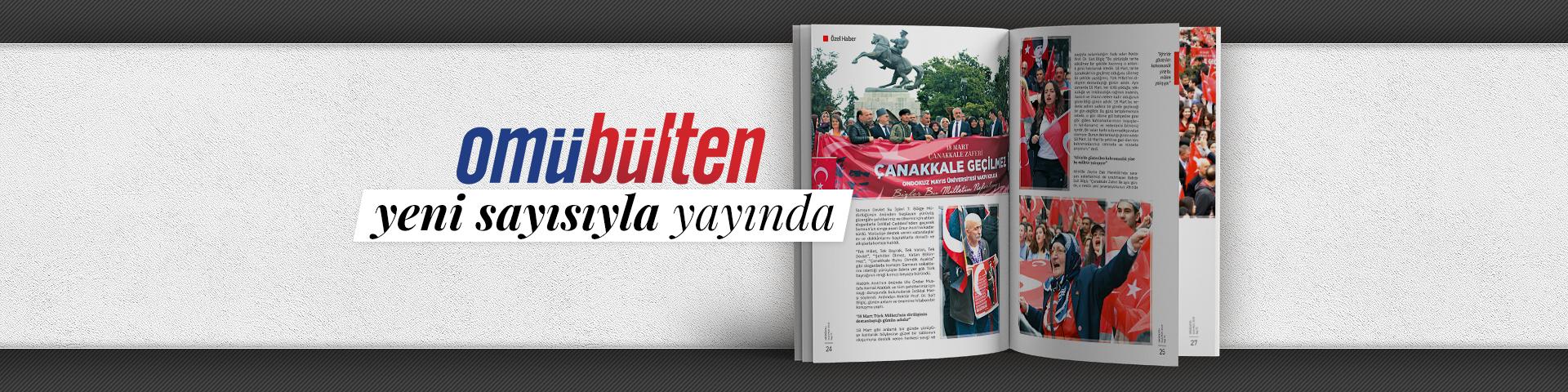 Omübülten Dergisi Yeni Sayısıyla Yayında...