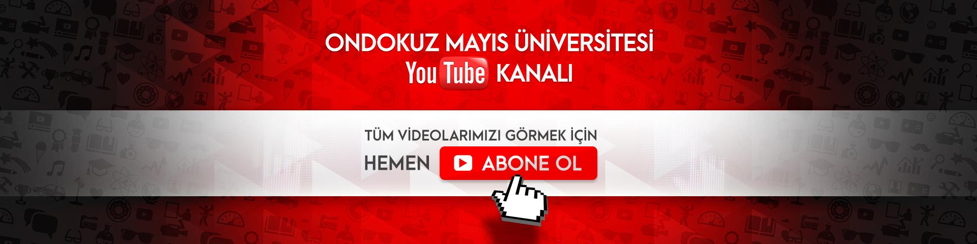 OMÜ'de Ne Var Ne Yok Youtube Kanalında