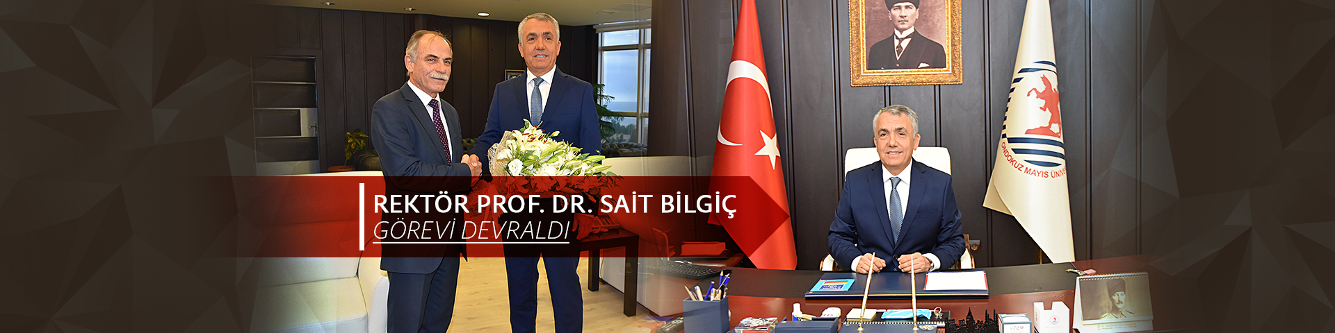 Prof. Dr. Sait Bilgiç Takes Over as Rector