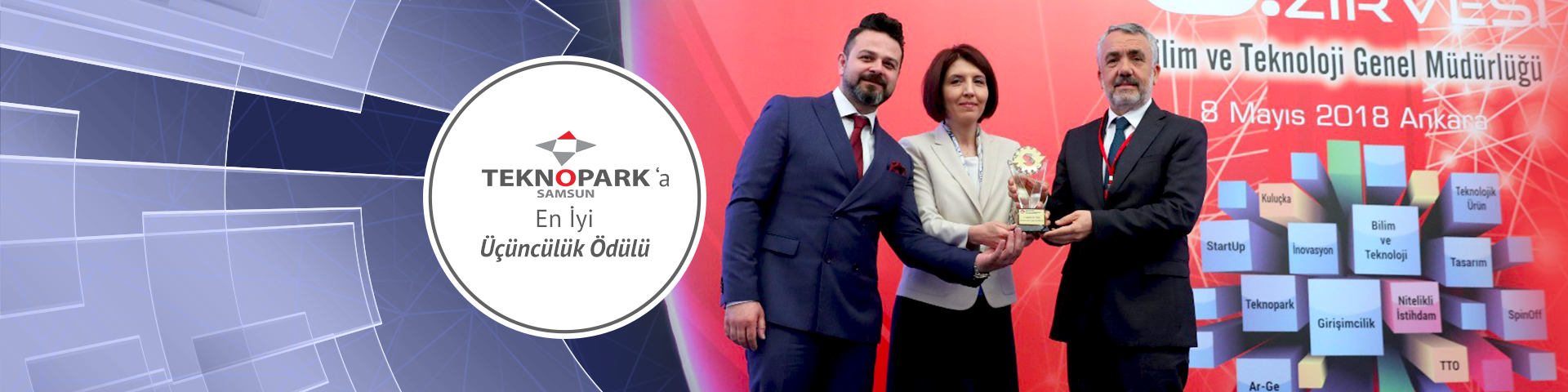 Samsun Teknopark Receives Third Prize