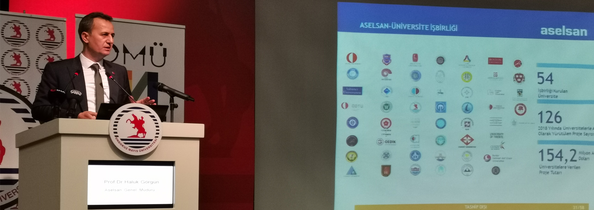 General Director of ASELSAN Gives Information about Domestic and National Activities of the Institution