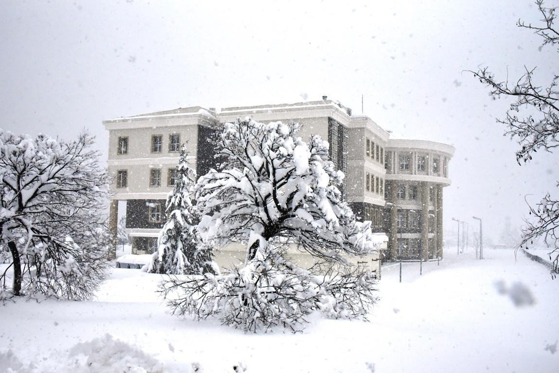Snow at OMÜ