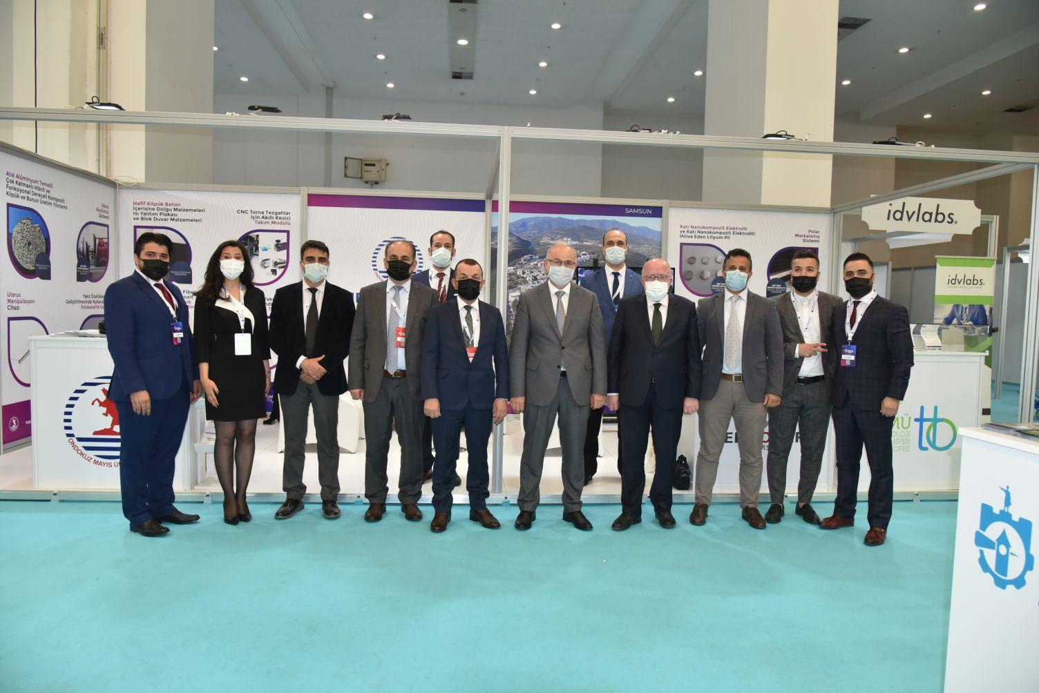 OMÜ, Türkiye Verimlilik ve Teknoloji Fuarı'nda