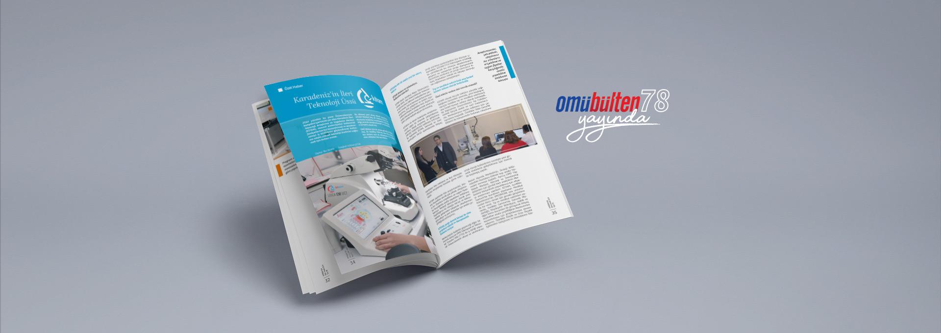 OMÜBülten Dergisinin 78. Sayısı Özel Haber ve Konularla Yayında