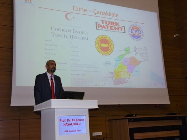 """TÜBA Üyesi Prof. Dr. Hayaloğlu: """"Türkiye'deki 100'e Yakın Peynir Çeşidinden Sadece Yüzde 10'u Tescilli"""""""