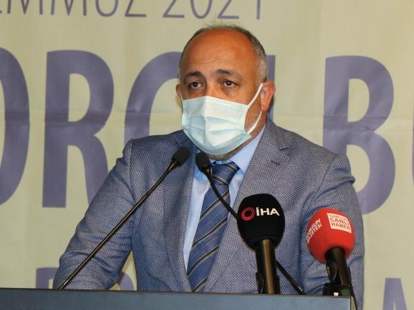 Samsun Gençlik ve Spor İl Müdürü İsmail Hakkı Kasapoğlu.