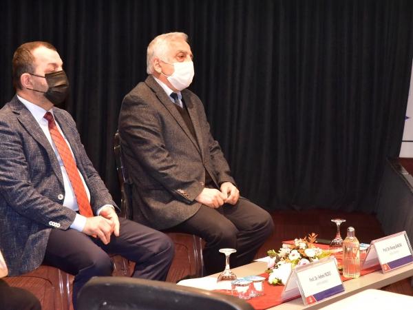 Prof. Dr. Fehmi Yazıcı ve Prof. Dr. Recep Sancak