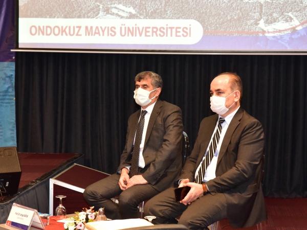 Prof. Dr. Cengiz Batuk ve Prof. Dr. Hüseyin Gençcelep