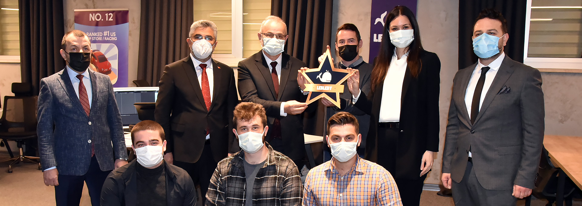 Milletvekili Karaaslan'dan Başarılı Teknopark Girişimcilerine Kutlama Ziyareti