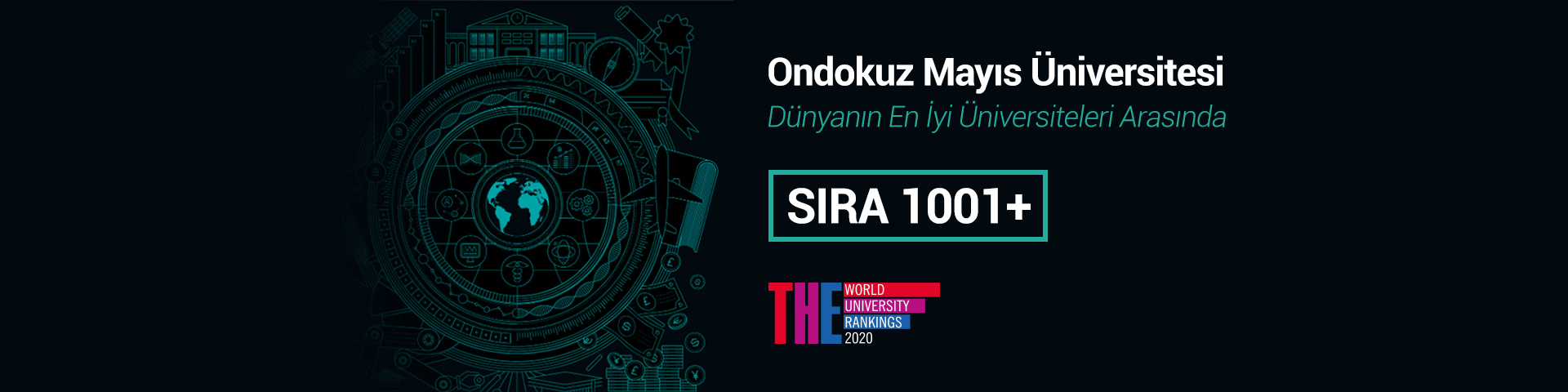 OMU Places Again at the Times Higher Education Rankings