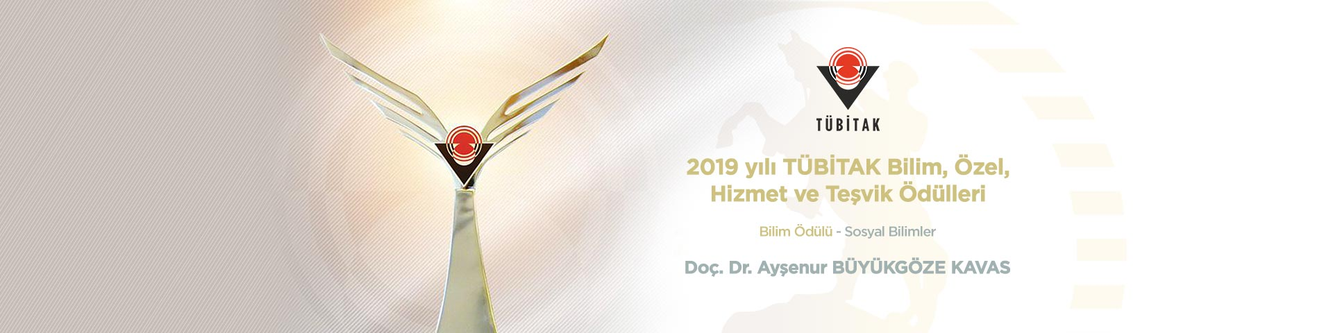 Doç. Dr. Ayşenur Büyükgöze Kavas'a TÜBİTAK Teşvik Ödülü
